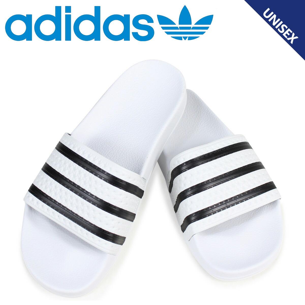 アディダス アディレッタ adidas Originals サンダル シャワーサンダル ADILETTE メンズ 280648 ホワイト オリジナルス [2/6 追加入荷]