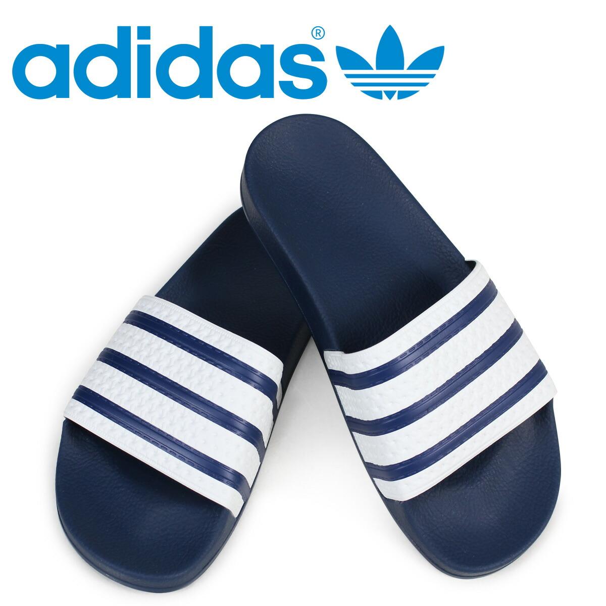 アディダス アディレッタ adidas Originals サンダル シャワーサンダル ADILETTE メンズ G16220 ブルー オリジナルス [2/6 追加入荷]