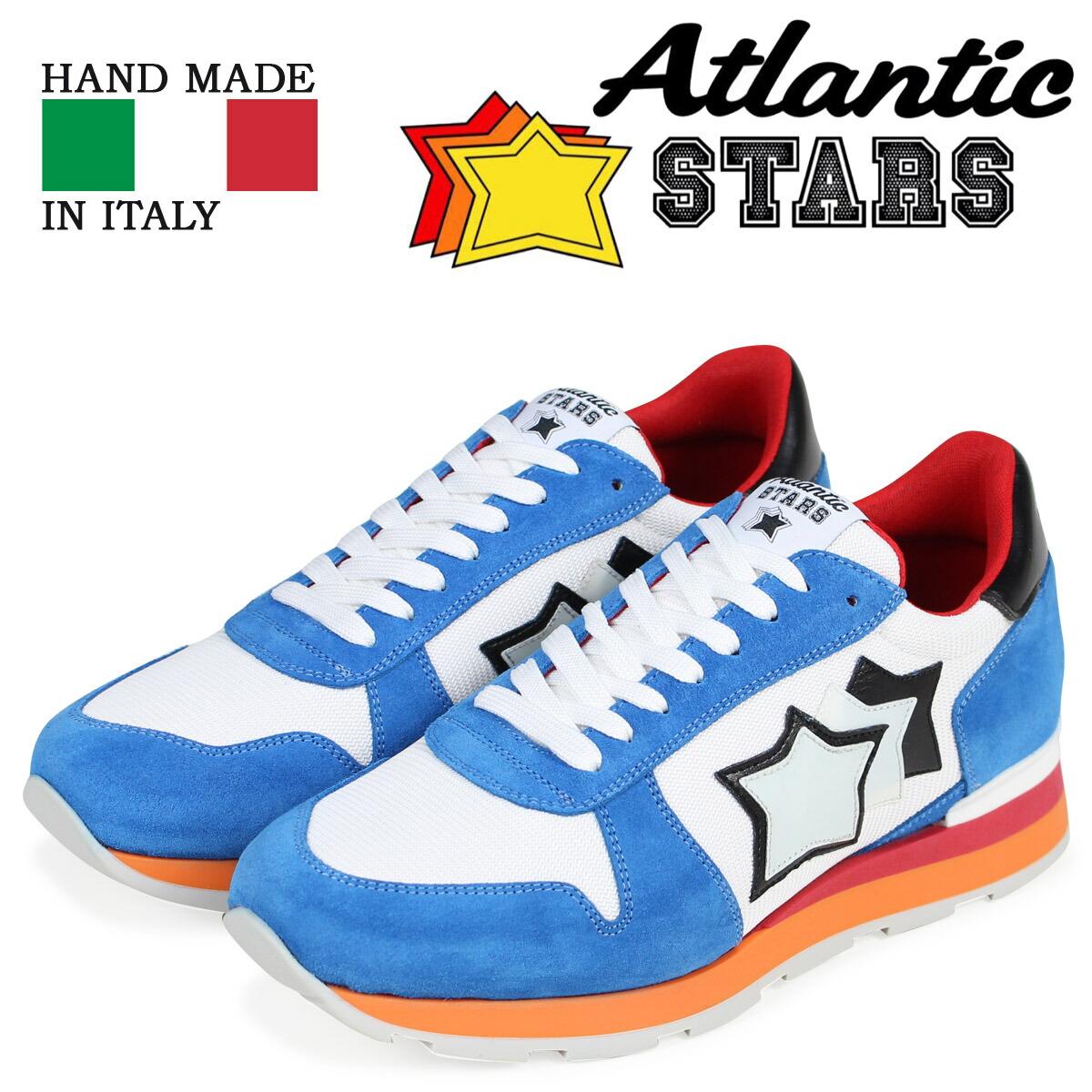 アトランティックスターズ メンズ スニーカー Atlantic STARS シリウス SIRIUS AB-85B ホワイト [2/2 新入荷]