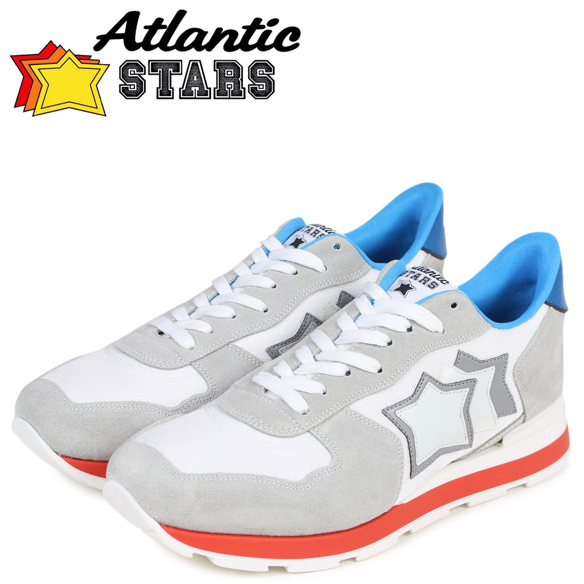 アトランティックスターズ メンズ スニーカー Atlantic STARS アンタレス ANTARES BBI-35B ライトグレー [1/15 追加入荷]