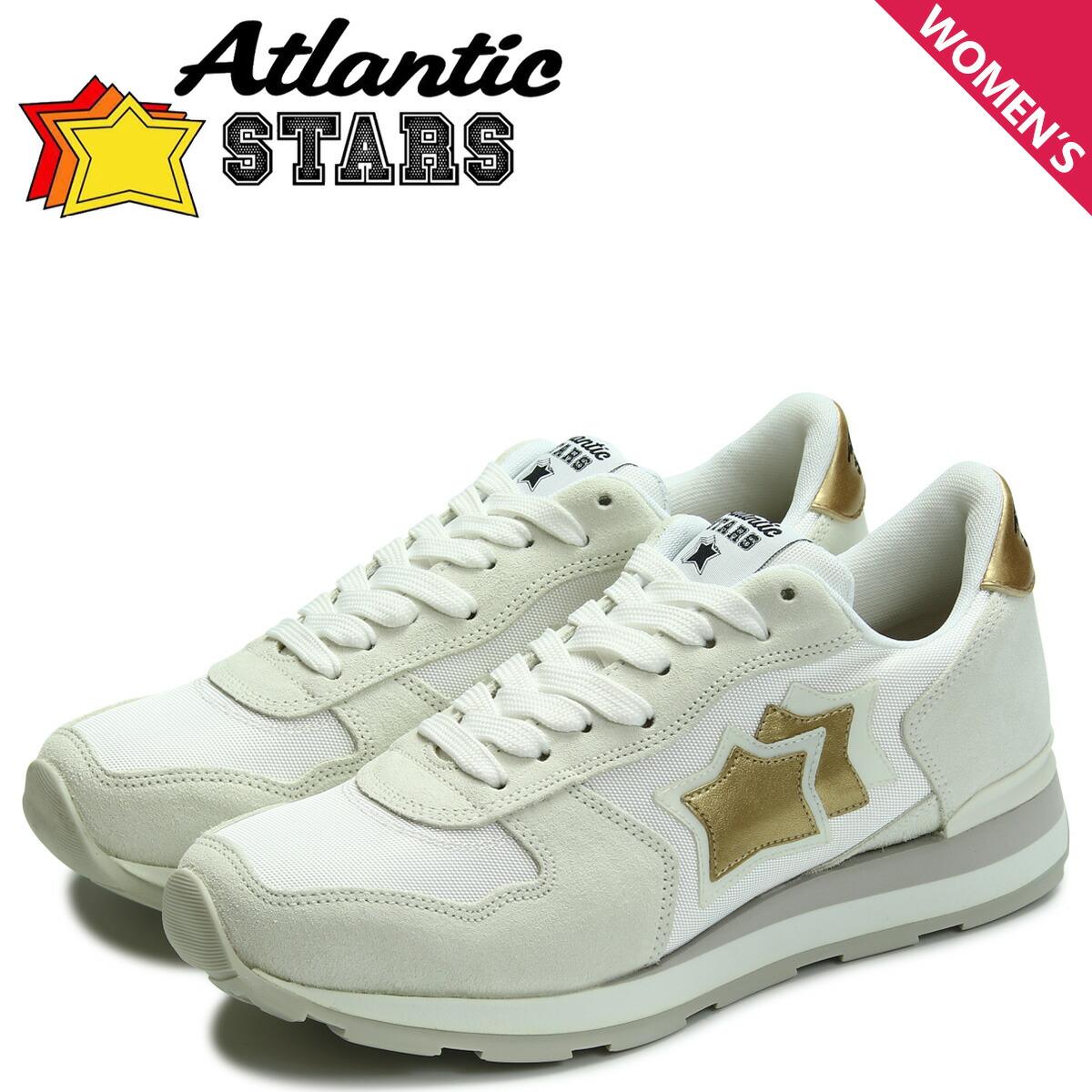 アトランティックスターズ レディース スニーカー Atlantic STARS ベガ VEGA BO-86B ホワイト [2/2 新入荷]