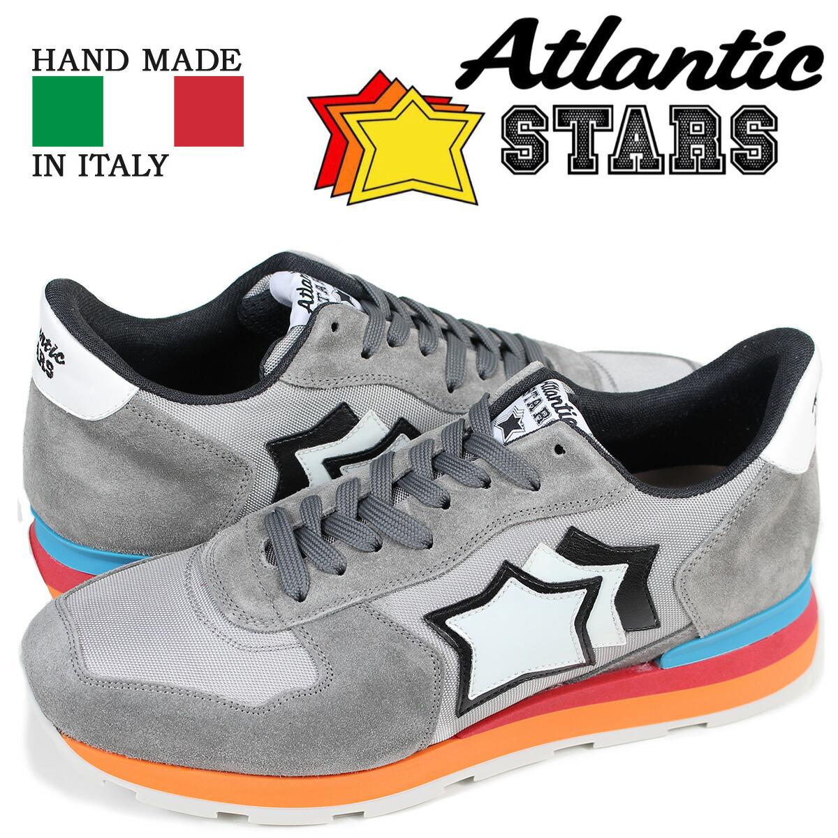 アトランティックスターズ メンズ スニーカー Atlantic STARS アンタレス ANTARES CS-85C グレー [2/2 新入荷]
