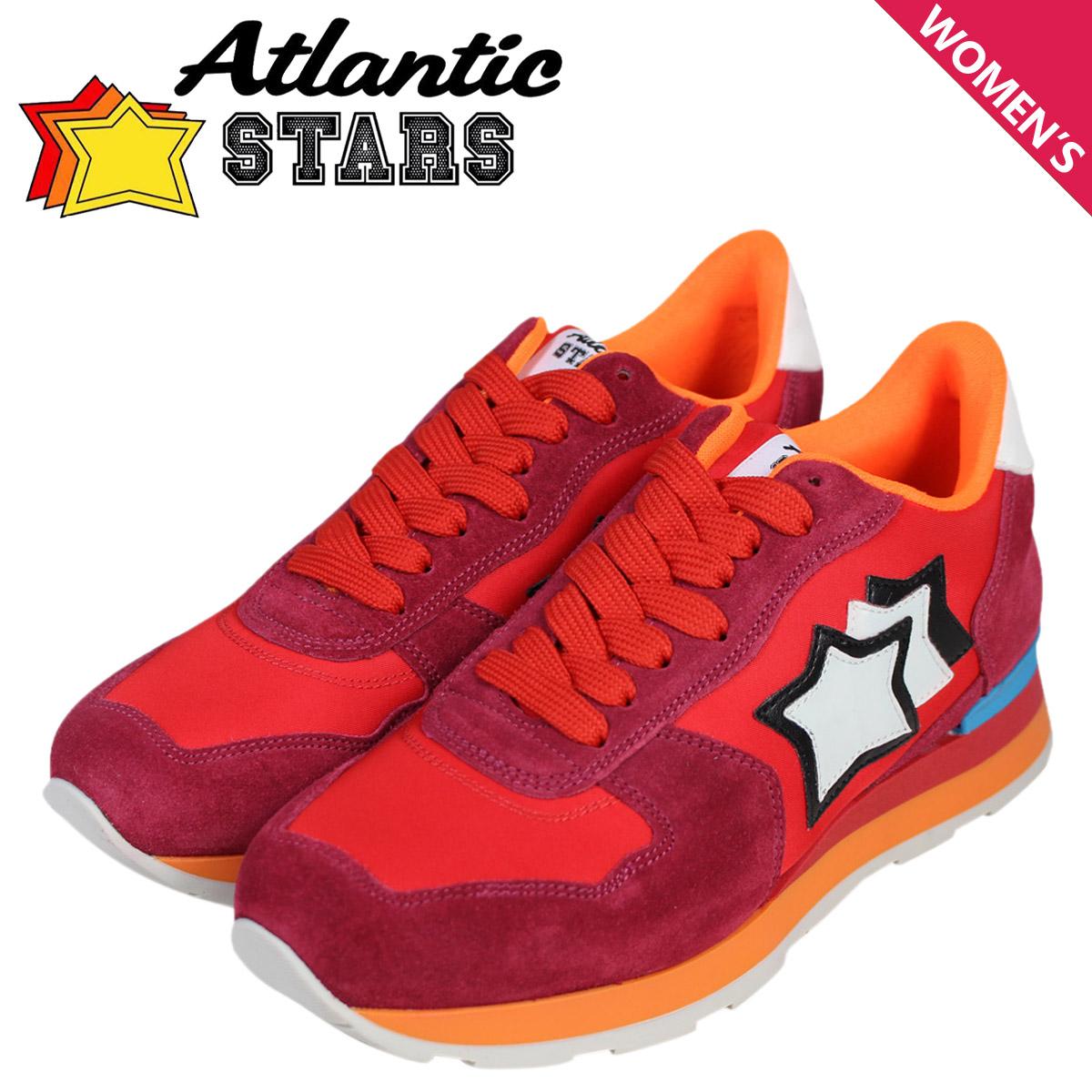 アトランティックスターズ レディース スニーカー Atlantic STARS ベガ VEGA FRA-85C 靴 レッド [2/2 追加入荷]