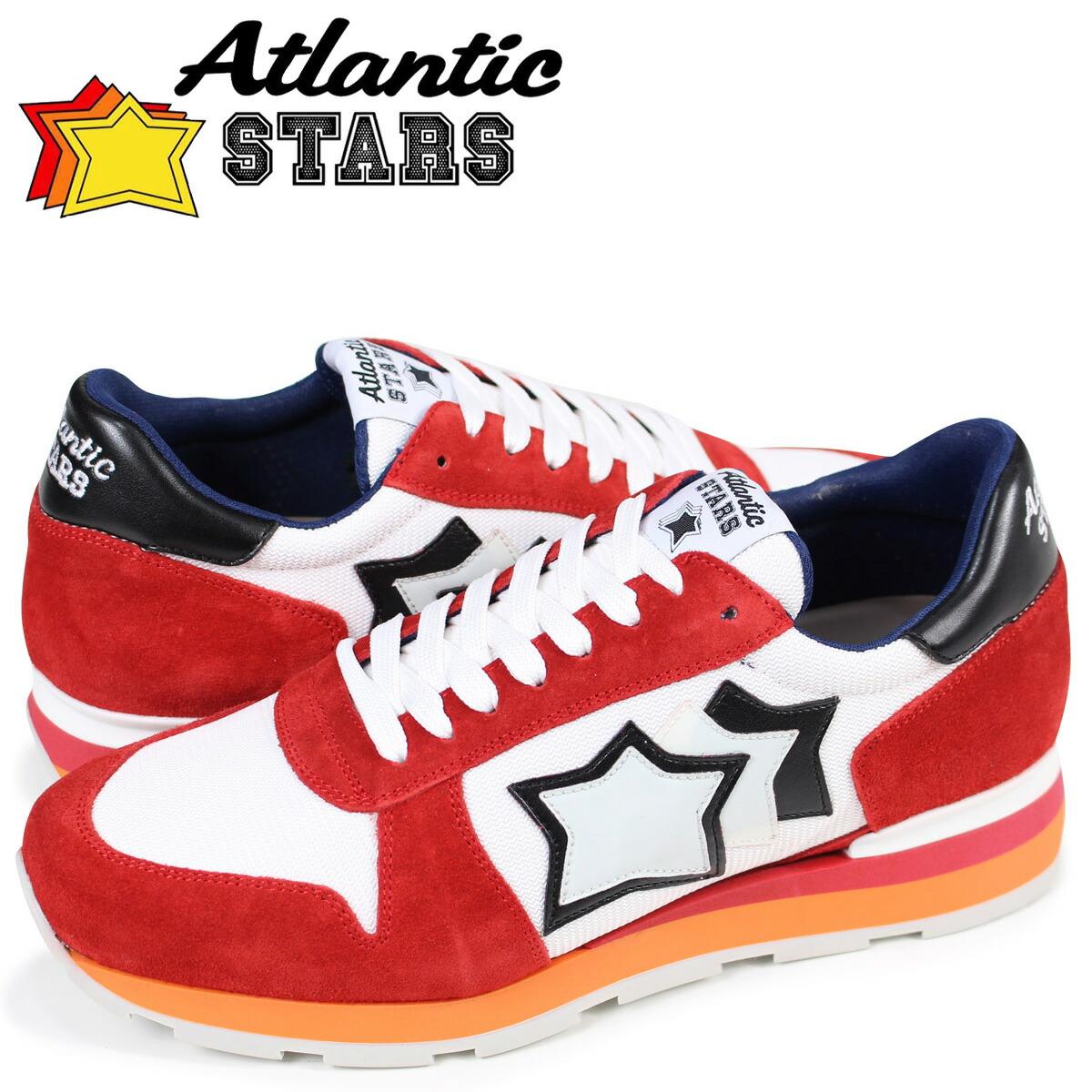アトランティックスターズ メンズ スニーカー Atlantic STARS シリウス SIRIUS RB-85B ホワイト [1/15 追加入荷]