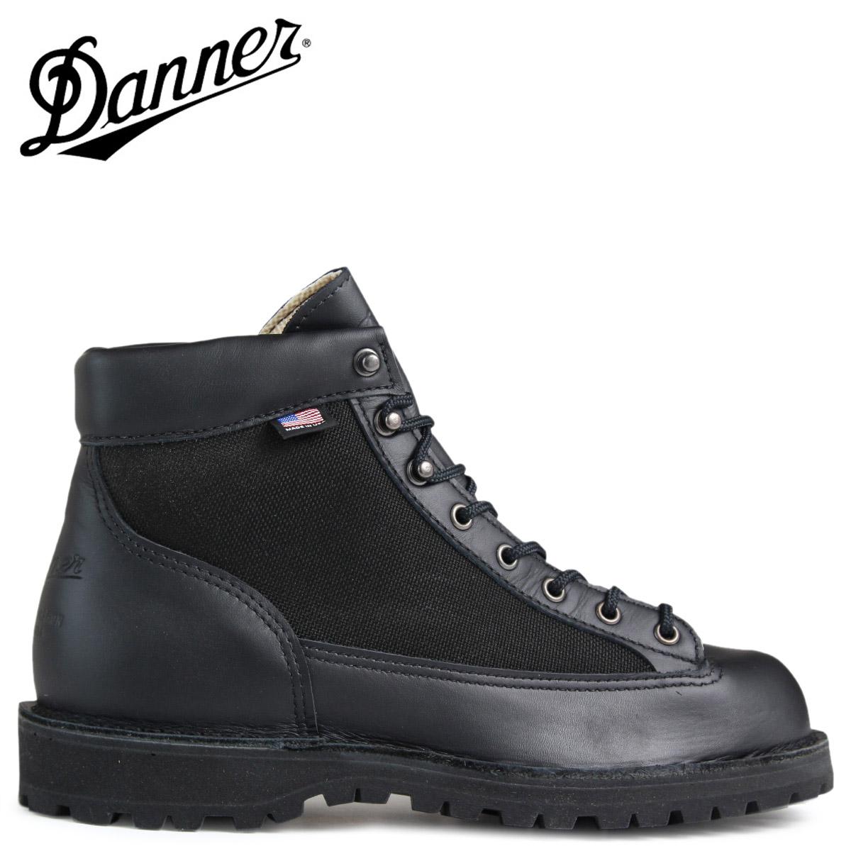 ダナー ダナーライト ブーツ Danner DANNER LIGHT 30465 MADE IN USA メンズ ブラック [予約商品 2/10頃入荷予定 再入荷]