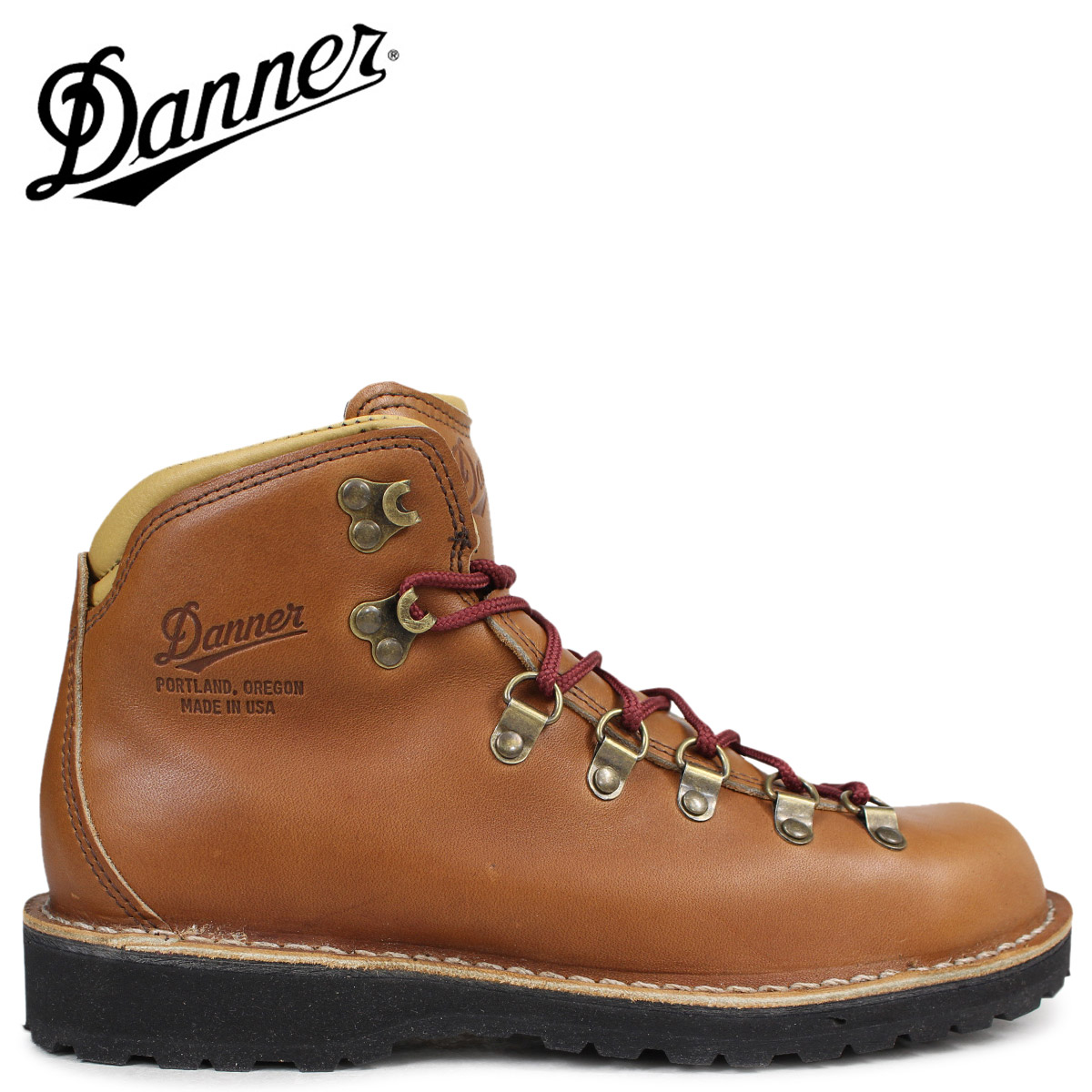 ダナー ブーツ Danner MOUNTAIN PASS 33276 MADE IN USA メンズ ブラウン [予約商品 2/10頃入荷予定 新入荷]
