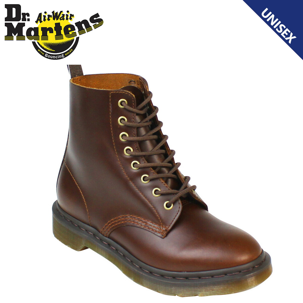 34cfc3457243 Dr. Martens Dr.Martens Pascal 8 hole boots PASCAL 8 EYE BOOT leather men s  lace-up boots R16179240 smoke  10   24 new in stock   regular