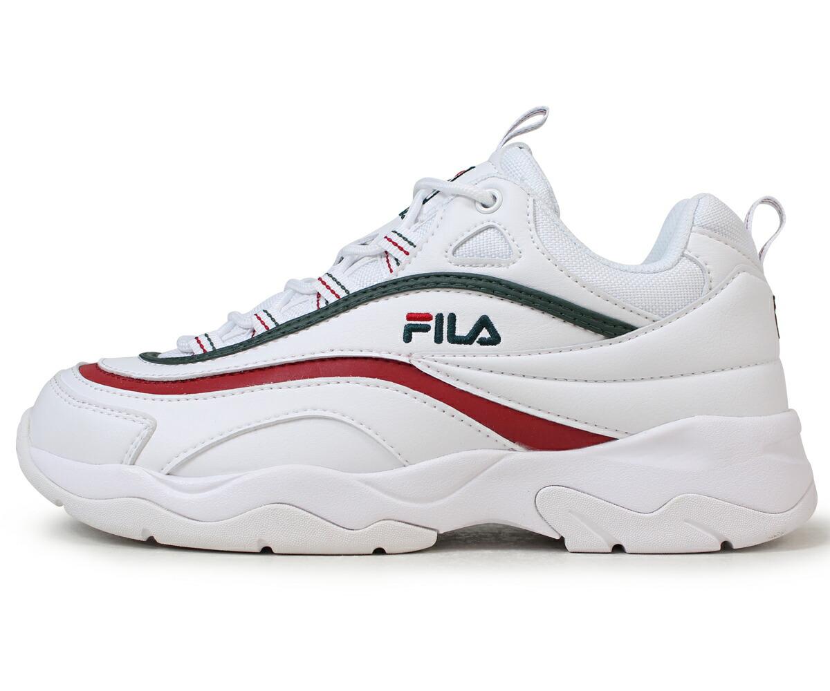 フィラ FILA フィラレイ スニーカー メンズ レディース フォルダー FOLDER FILARAY SMU コラボ ホワイト FLFL8A1U10 FS1SIA1166X WGN [5/11 新入荷]
