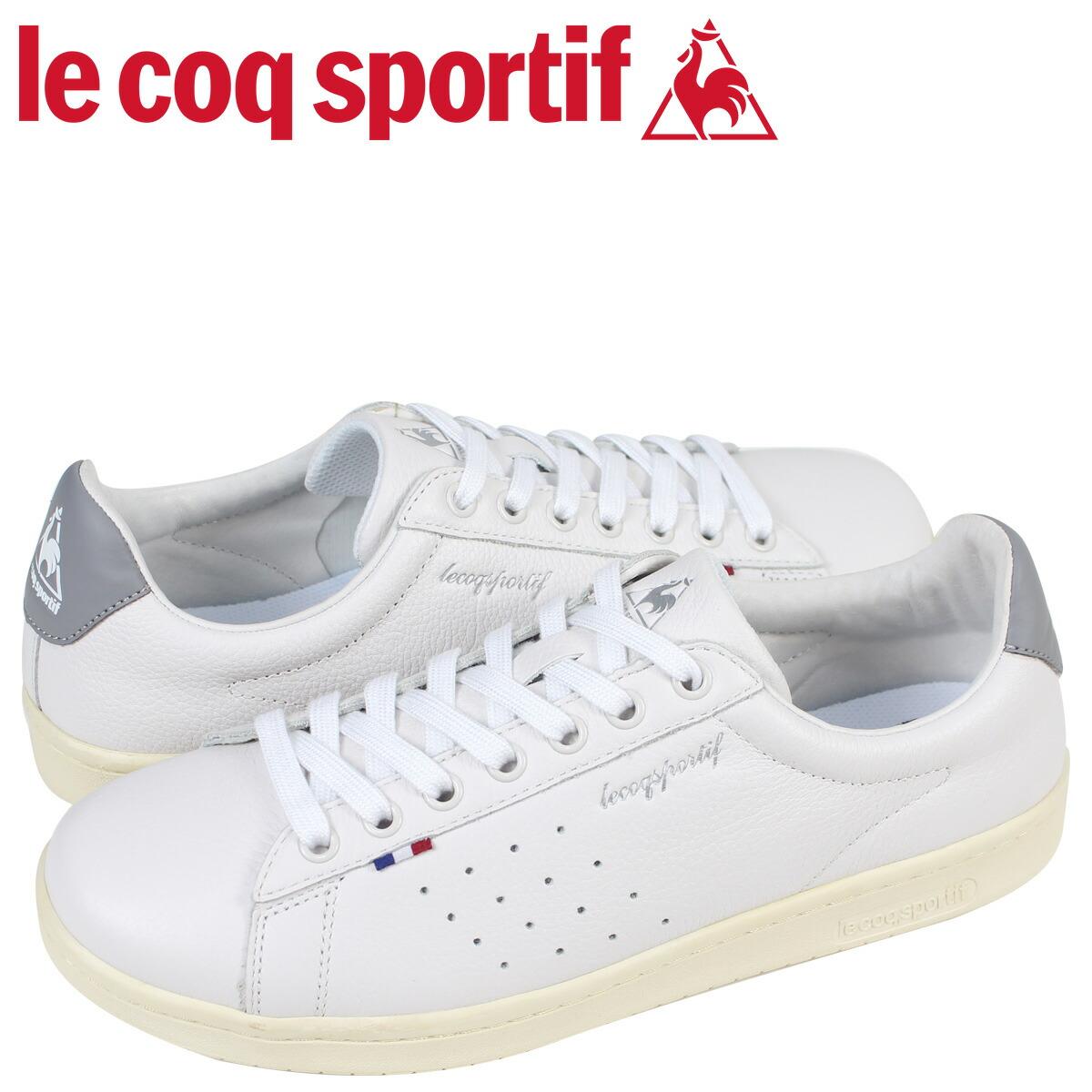ルコック スポルティフ le coq sportif メンズ スニーカー LA ローラン LE + ROLAND ホワイト QL1LJC15WG [2/10 新入荷]