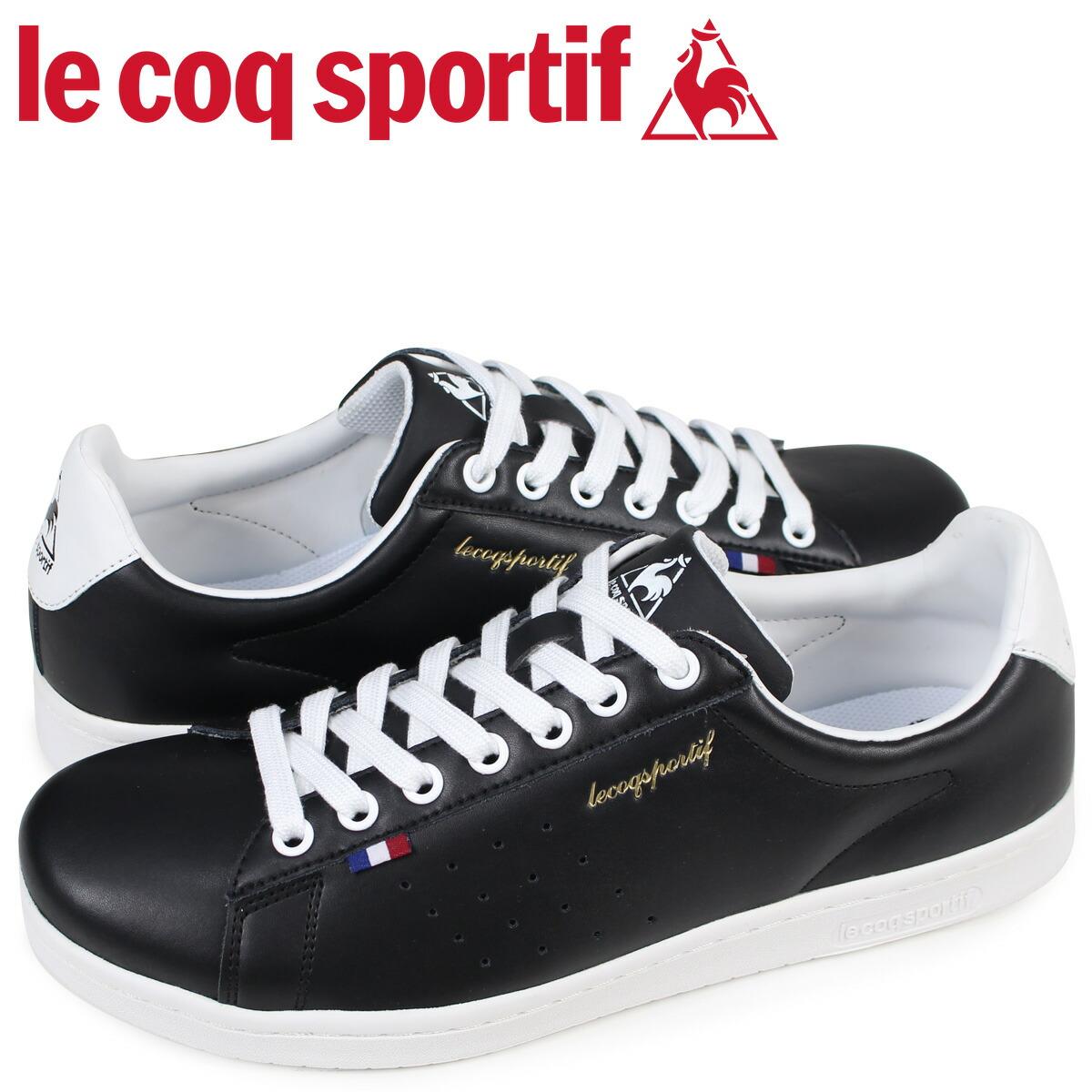 ルコック スポルティフ le coq sportif メンズ スニーカー LA ローラン LE ROLAND ブラック QMT-7313BW [2/10 新入荷]