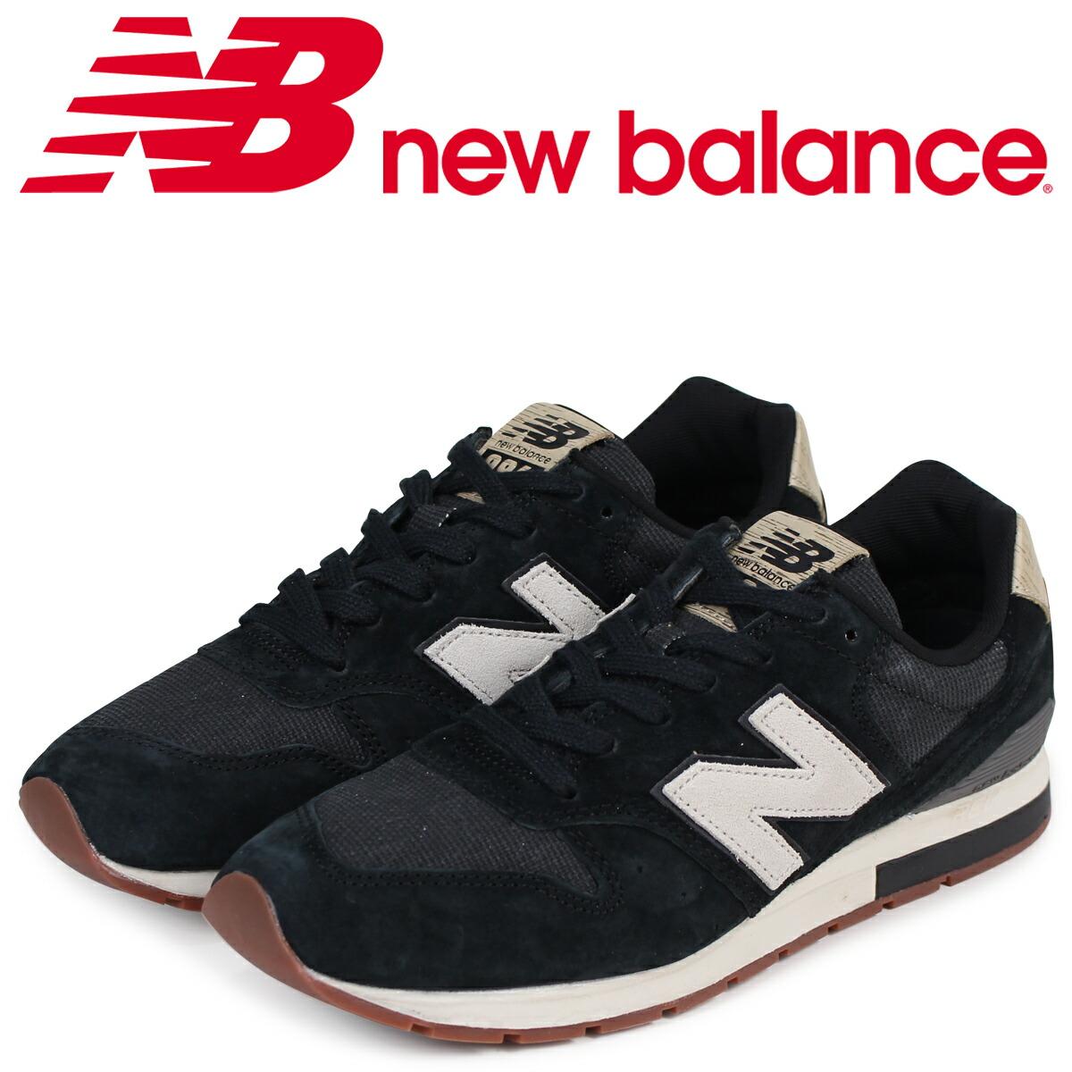 ニューバランス 996 メンズ new balance スニーカー MRL996PA Dワイズ ブラック [2/20 新入荷]