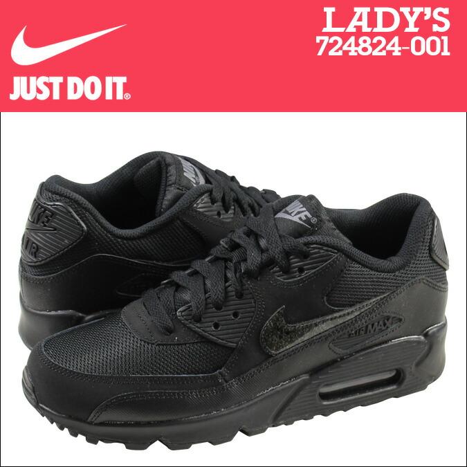 77822d432b9 Nike Jr Air Max Nike Air Max 90 Black