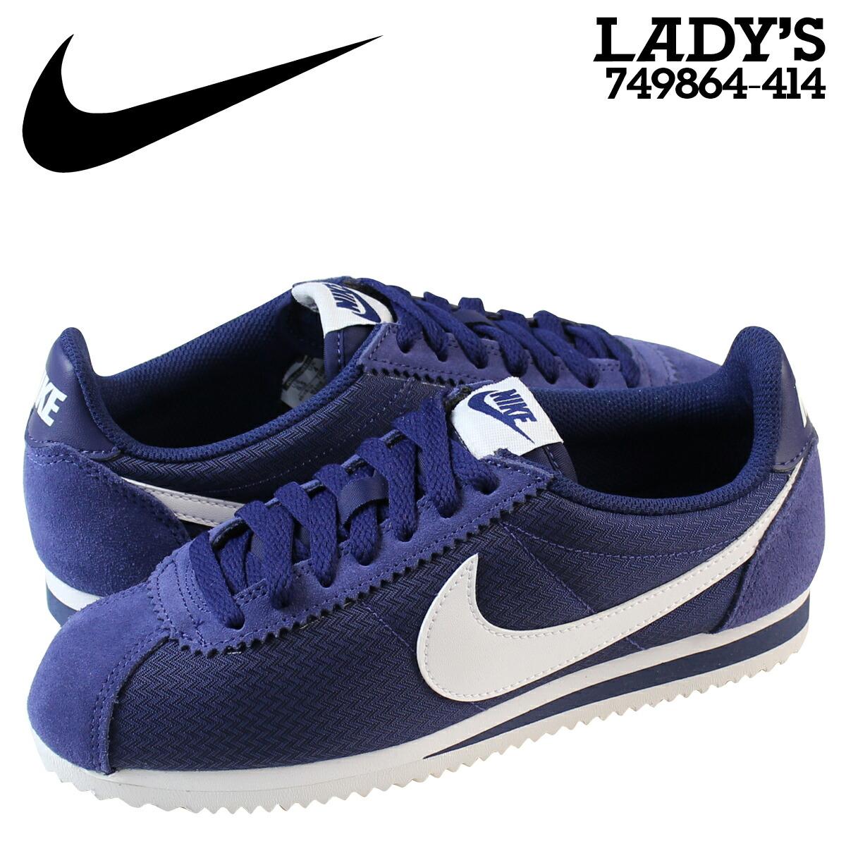 Nike Cortez Blue Nylon