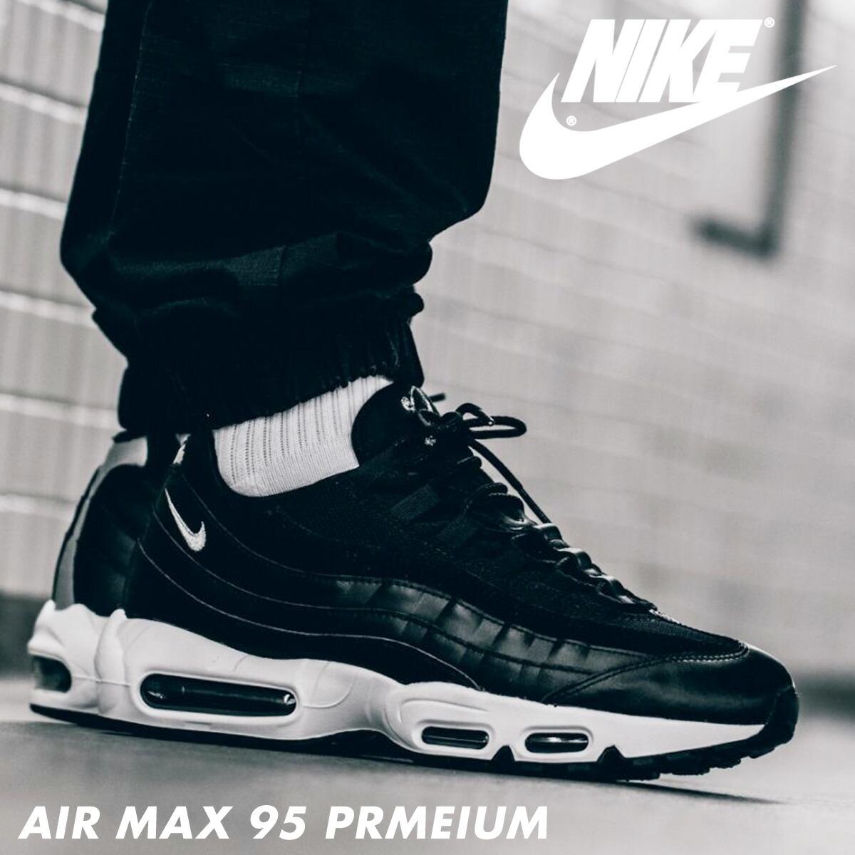 【楽天市場】【SOLD OUT】 NIKE ナイキ エアマックス95 スニーカー AIR MAX 95 PRMEIUM 538416-008 メンズ  靴 ブラック:シュガーオンラインショップ
