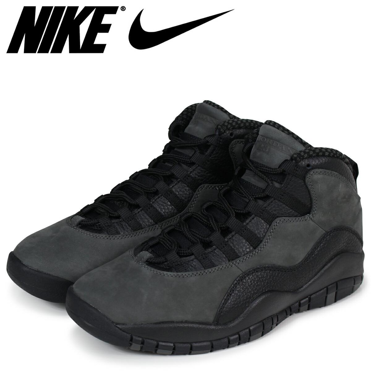 the latest dd9f8 7bbaf NIKE Nike Air Jordan 10 nostalgic sneakers men AIR JORDAN 10 RETRO  310,805-002 gray gray  load planned Shinnyu load in reservation product 5 2  containing