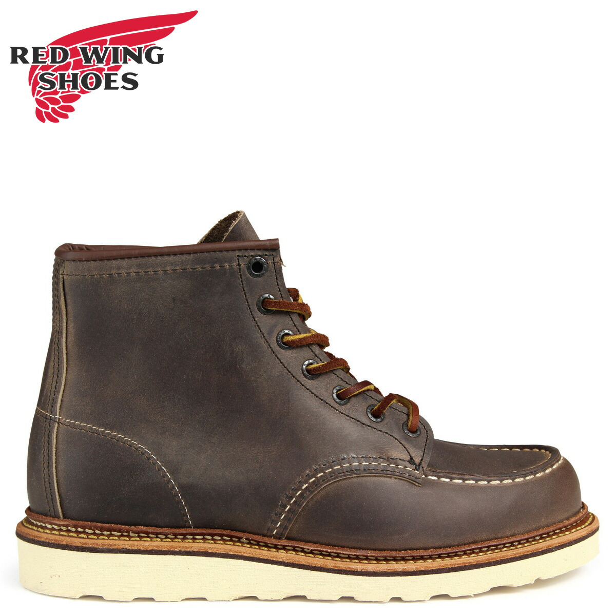 レッドウィング RED WING ブーツ 6INCH CLASSIC MOC TOE 6インチ Dワイズ 8883 レッドウイング メンズ グレーブラウン [予約商品 2/10頃入荷予定 追加入荷]