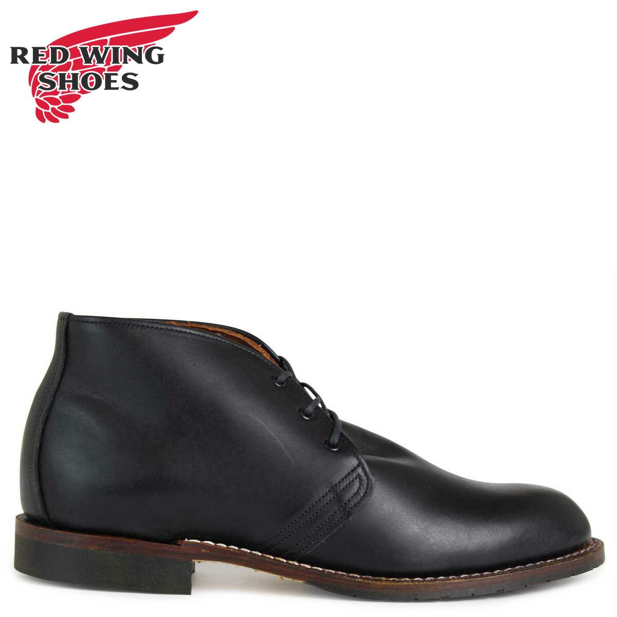 レッドウィング RED WING ベックマン ブーツ BECKMAN CHUKKA 9049 レッドウイング メンズ ブラック [予約商品 2/10頃入荷予定 追加入荷]