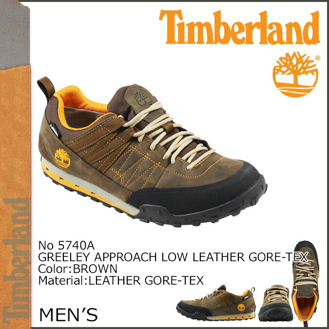 Timberland Timberland shoes sneakers GREELEY APPROACH LOW LEATHER GORE TEX 5,740A men