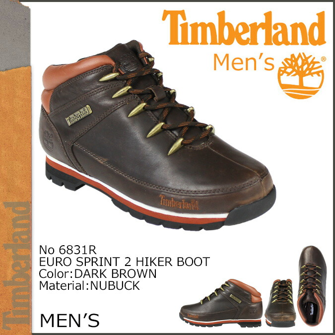 5b6298981eb Timberland Timberland boots EURO SPRINT 2 HIKER BOOT 6831R W Wise men