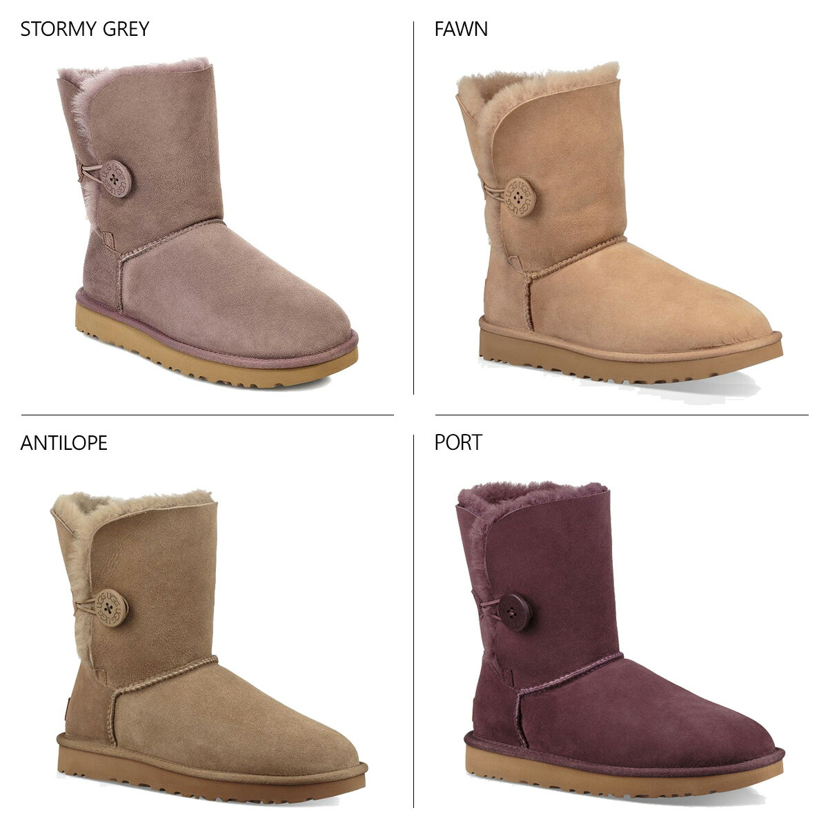 be5722e6067 アグ UGG mouton boots Bailey button 2 Lady's WOMENS BAILEY BUTTON II 1016226