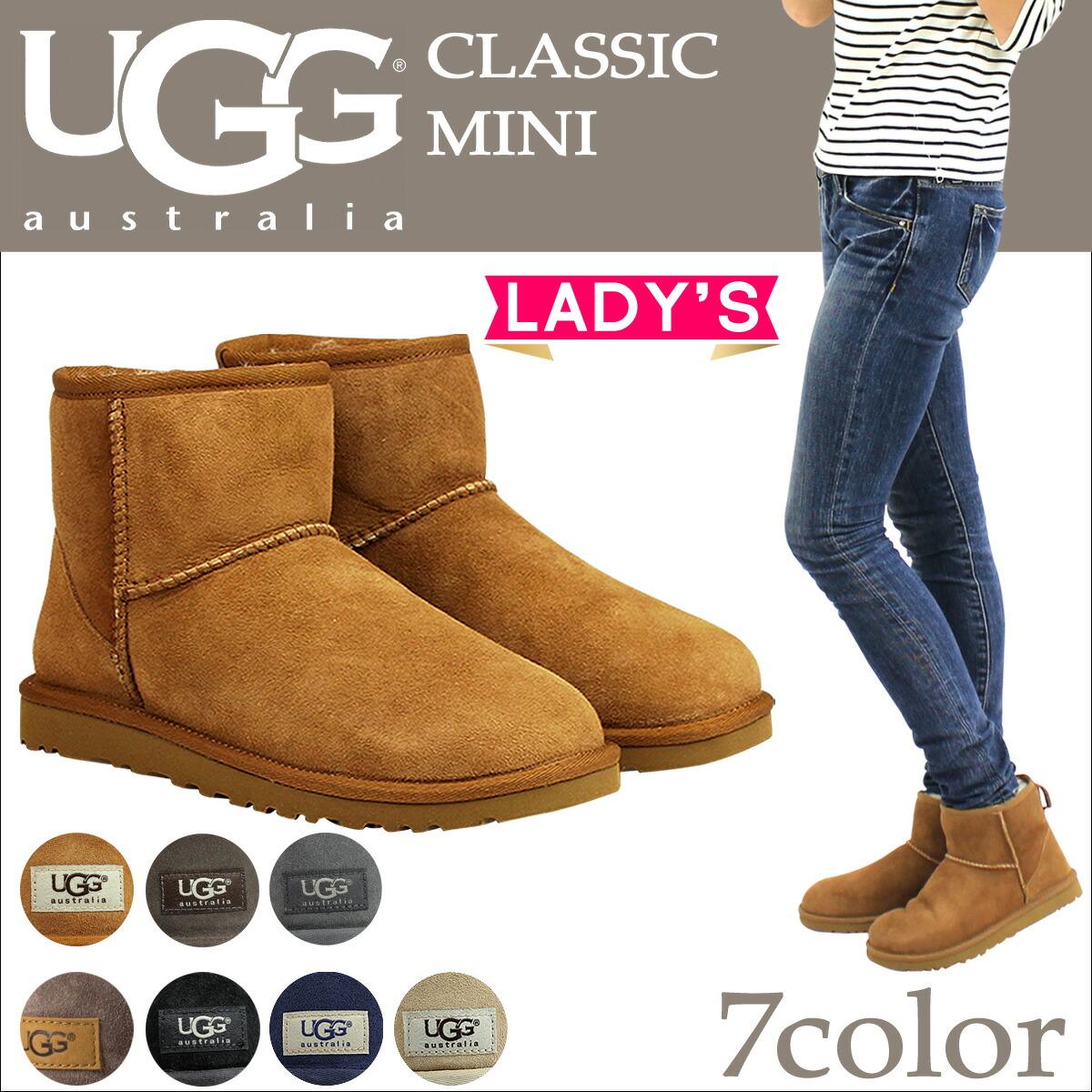9f941326473 アグ UGG ムートン ブーツ クラシック ミニ 2 WOMENS CLASSIC MINI II ...
