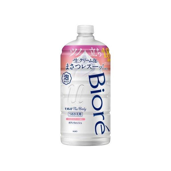 ビオレu ザ ボディ 泡タイプ ブリリアントブーケの香り 詰替え用 800ml