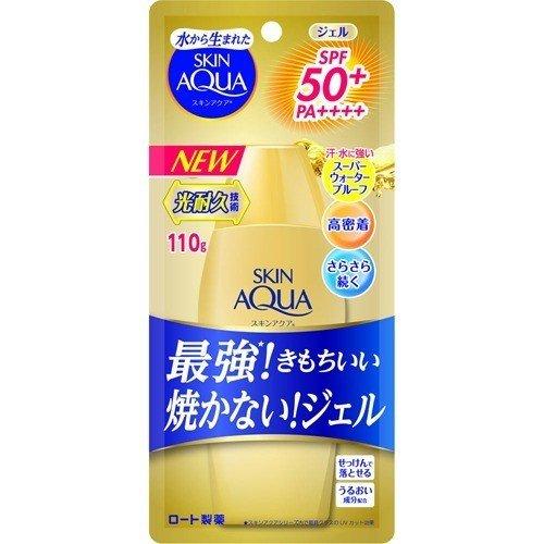 スキンアクア スーパーモイスチャージェルゴールド SPF50+ PA++++ 110g