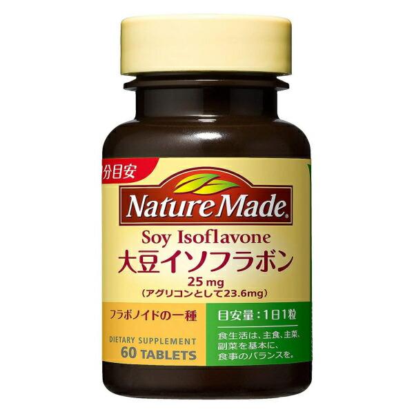 ネイチャーメイド 大豆イソフラボン 60日分 (60粒)