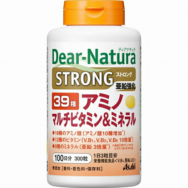ディアナチュラ ストロング39アミノ マルチビタミン&ミネラル 100日分 (300粒)