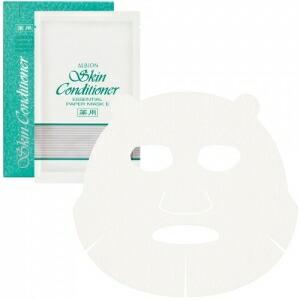 ALBION アルビオン 薬用スキンコンディショナー エッセンシャル ペーパーマスク 12ml×8枚入