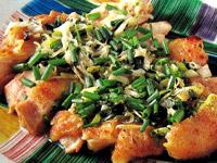 鶏肉とネギのレシピ