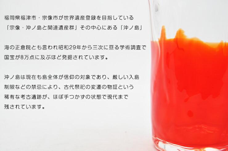 博多びーどろ粋工房楽天市場店 沖ノ島朱(あか)タンブラー NM-19 3