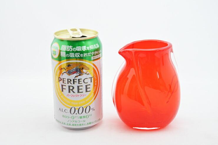 博多びーどろ粋工房楽天市場店 沖ノ島朱(あか)酒器 NM-106 8
