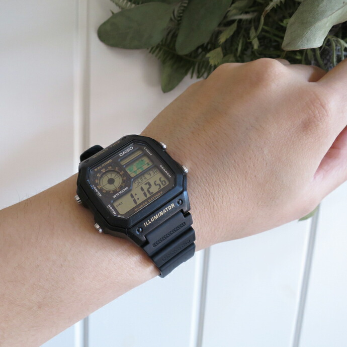 CASIO / WORLD TIME WATCH