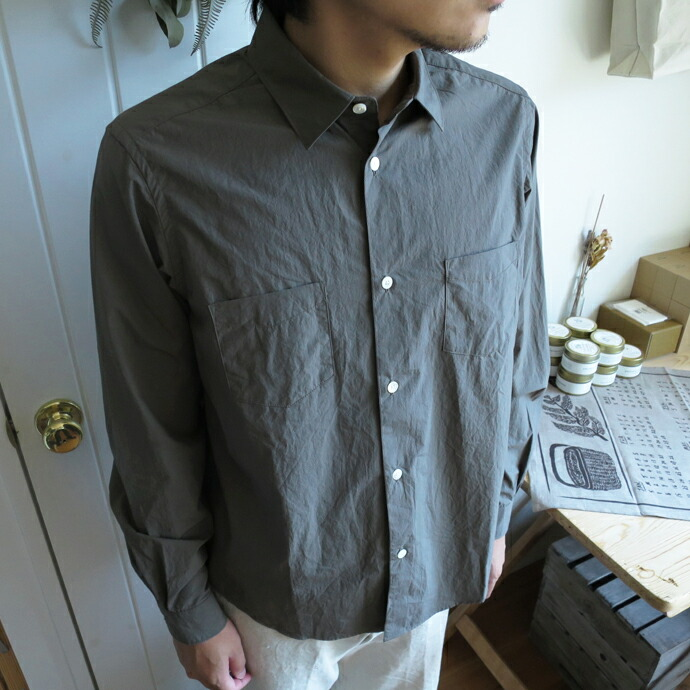 ENDS and MEANS Aldous Shirts 17AW エンズアンドミーンズ  オルダスシャツ 17AW