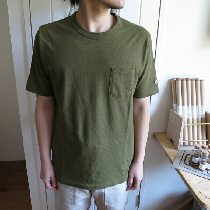 ENDS and MEANS Pocket Tee エンズアンドミーンズ ポケットTシャツ