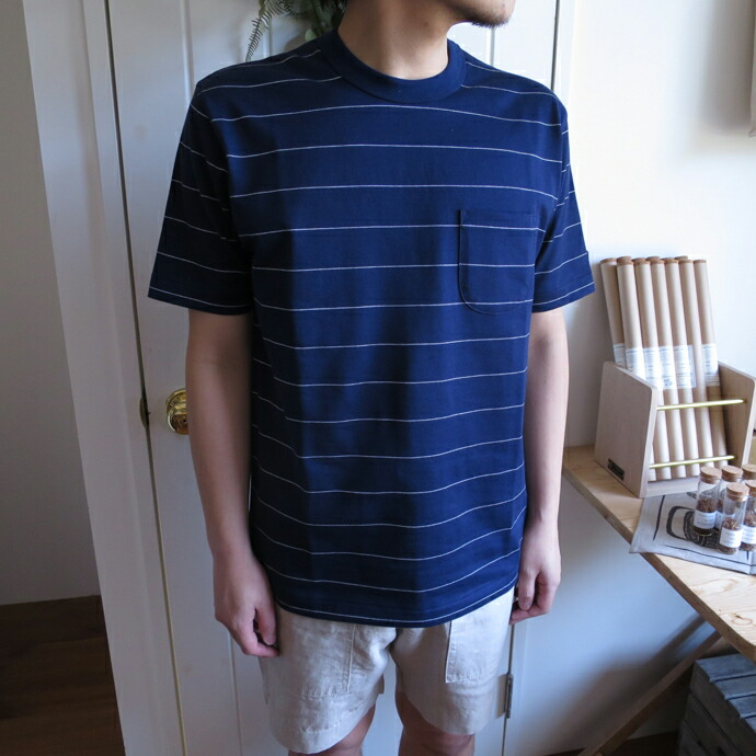 ENDS and MEANS / Border Pocket Tee