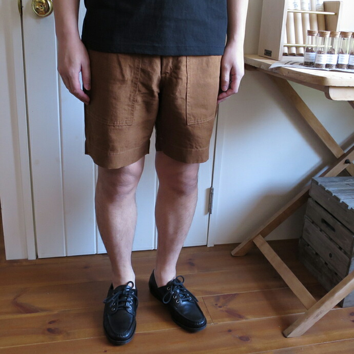 ENDS and MEANS Easy Baker Shorts エンズアンドミーンズ イージー ベイカー ショーツ