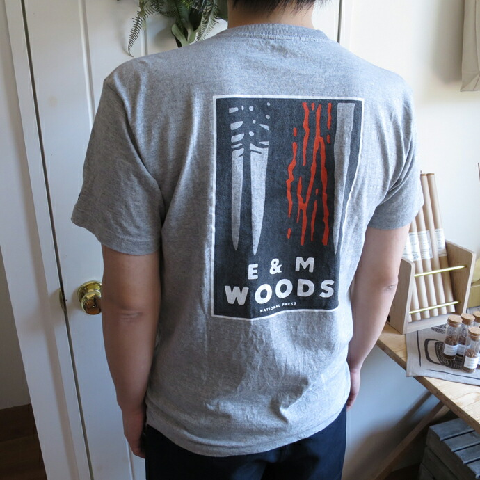 ENDS and MEANS / WOODS Pocket Tee