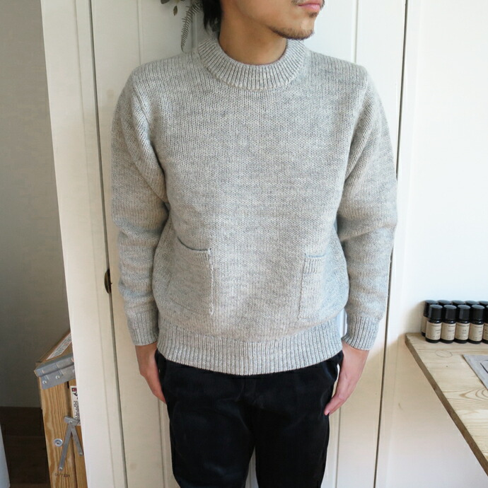 ENDS and MEANS Grandpa Knit 17AW  エンズアンドミーンズ グランパニット