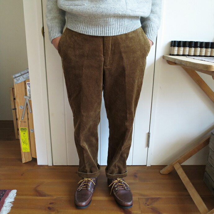 ENDS and MEANS Cord Grandpa Trouser