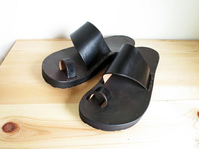 JUTTA NEUMANN ALICE / Black Latigo Leather + Birken Sole ユッタ ニューマン / アリス ブラック ラティーゴ レザー + ビルケンソール