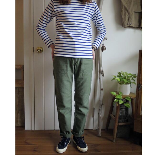 orslow Slimfit Fatigue Pants 【LADY'S】オアスロウ レディース スリムフィット ファティーグパンツ