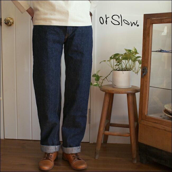 orslow 105 Standard 5P Denim 【LADY'S】オアスロウ レディース 5ポケット スタンダード デニム