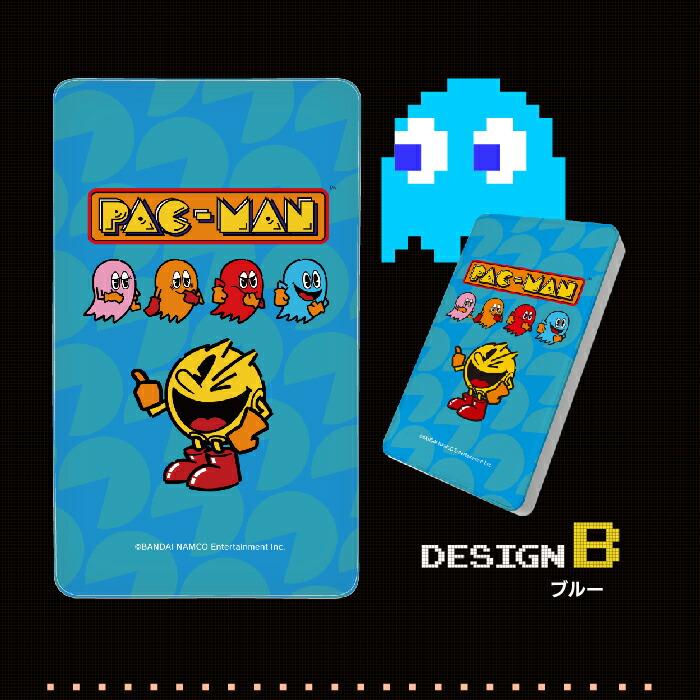 パックマンデザインモバイルバッテリー