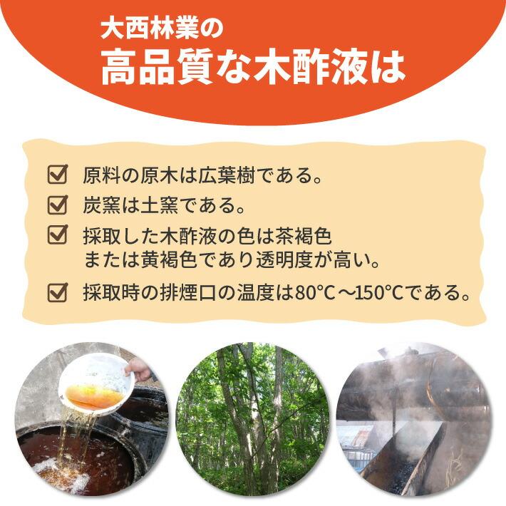 07-大西林業の高品質な木酢液