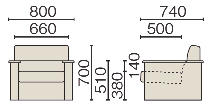RS-3410Nのサイズイメージ