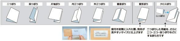 多様折り方が可能のイメージ