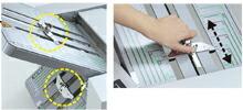 折り設定のイメージ