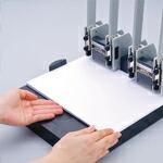 紙がセットしやすいのイメージ